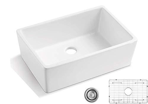 ALWEN 30-inch Fireclay Kitchen Sink