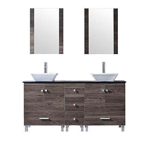 BATHJOY Double PLY Wood Bathroom Vanity