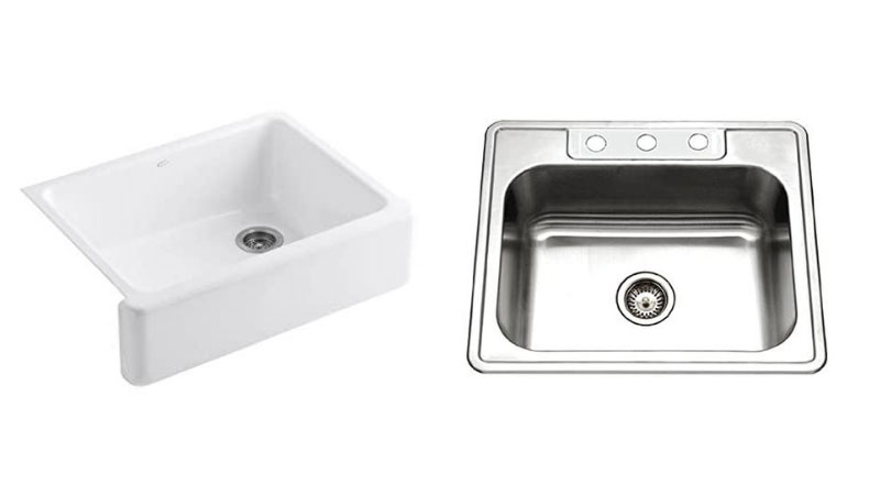 Cast Iron Vs Stainless Steel Sink