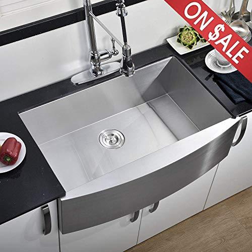 Comllen 33 Inch Farmhouse Kitchen Sink