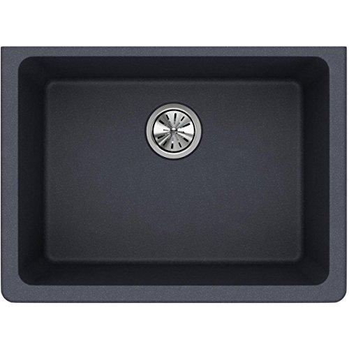 Elkay ELGU2522GY0 Quartz Classic Single Bowl Undermount Sink