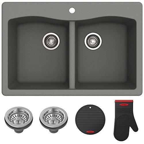 Kraus Forteza Granite Kitchen Sink KGD-52GREY
