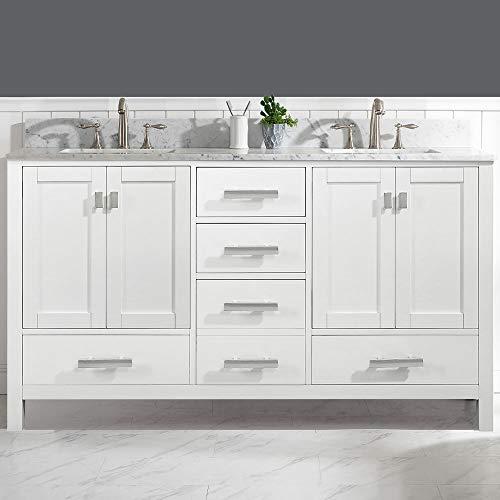 LUCA Kitchen & Bath Geneva Double Vanity Set