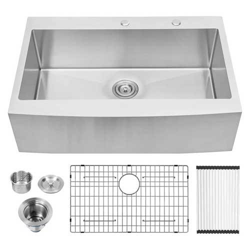 Lordear 36-inch Farmhouse Kitchen Sink