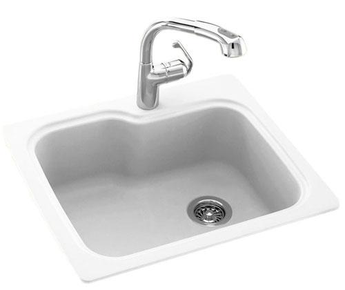 Swanstone metal Sink