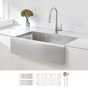 ZUHNE 33-Inch Single Bowl Farmhouse Sink
