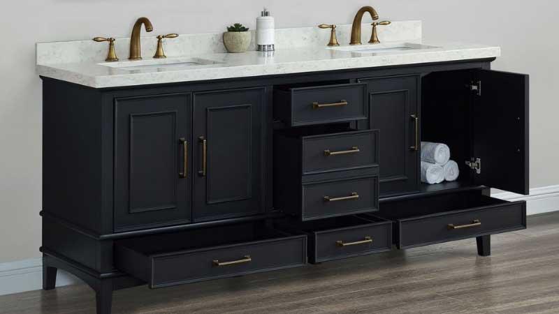 Double Sink Vanity Sizes