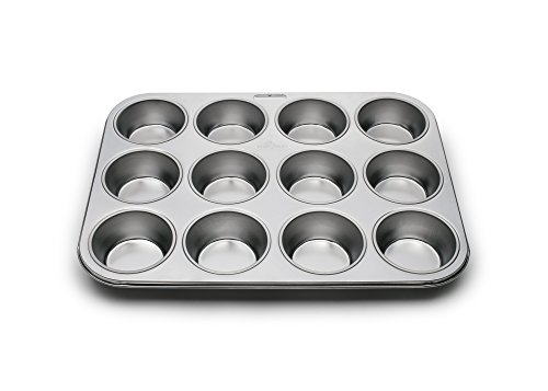 Fox Run 12-Cup Muffin Stainless Steel Baking Pan