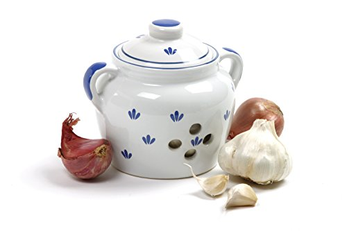 Norpro 5-Inch Ceramic Garlic Keeper