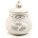Norpro Deluxe Stoneware Garlic Keeper