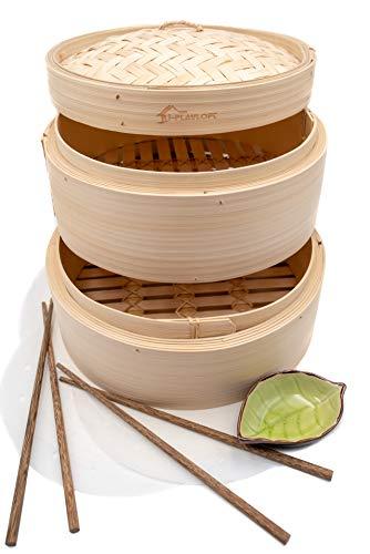 Premium Handmade Bamboo Steamer