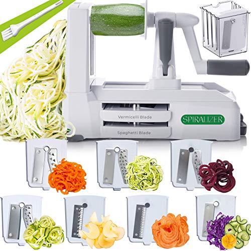 Spiralizer 7 Blade Vegetable Slicer