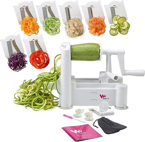 WonderVeg Perfect Vegetable Slicer and Spiralizer
