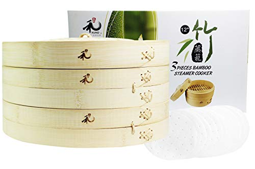 Yuho Asian Kitchen Bamboo Steamer
