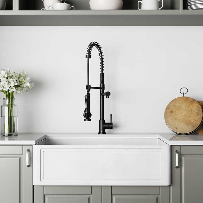 Install Your Faucet For Farmhouse Sink