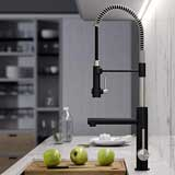 Kraus KPF-1603SFMB Artec Pro 2-Function Commercial Style Pre-Rinse Kitchen Faucet