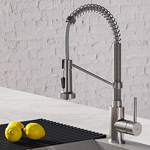 Kraus KPF-1610SS Bolden 18-Inch Commercial Kitchen Faucet