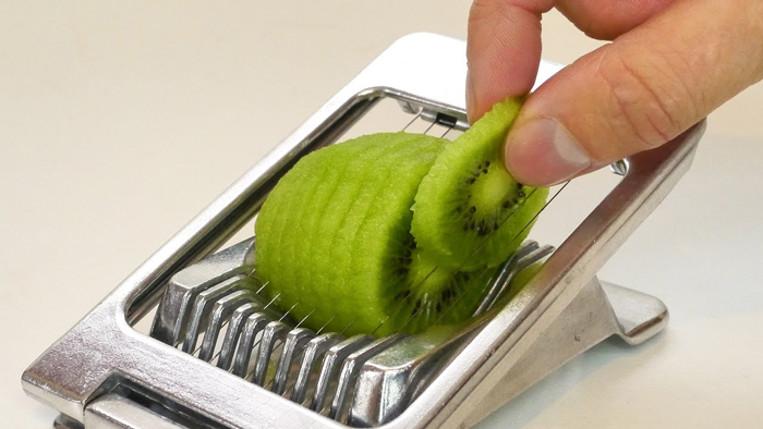 Egg Cutter with Vegetables