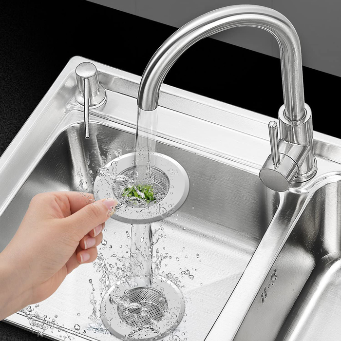 What Size Are Kitchen Sink Strainers