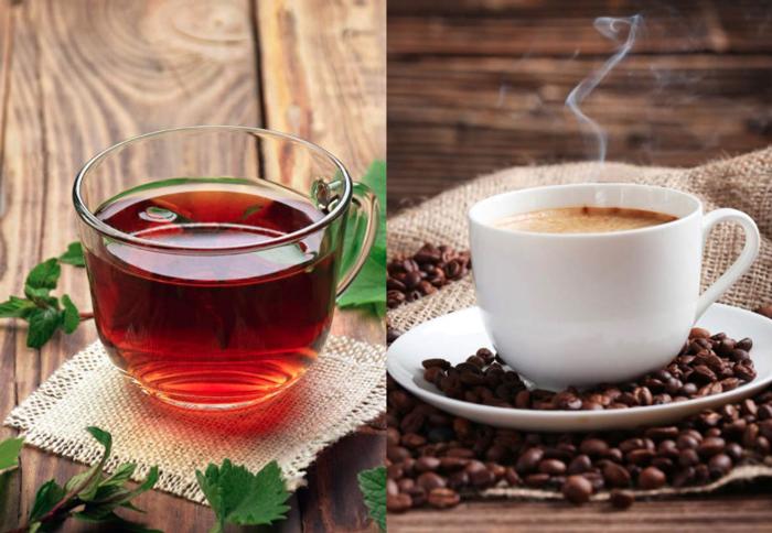 coffee vs tea Liquids Vessel